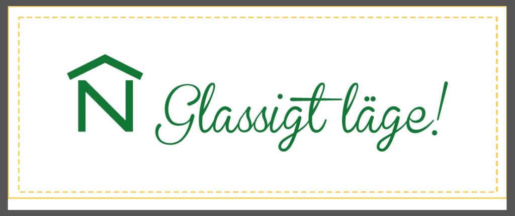 Glassbägare med tryck korrektur